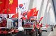 Cổ động viên Việt Nam cuồng nhiệt trước giờ 'G'
