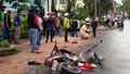 Lại thêm một vụ xe ô tô gây tai nạn liên hoàn