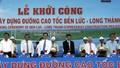 Thủ tướng phát lệnh khởi công đường cao tốc Bến Lức - Long Thành