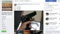Báo động tình trạng buôn bán vũ khí tràn lan trên mạng xã hội