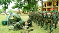 Nắng nóng kéo dài, bộ đội vẫn đảm bảo 99,1% khỏe toàn quân