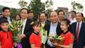 Chùm ảnh: Thủ tướng dự Ngày hội Đại đoàn kết toàn dân tộc tại Bắc Giang