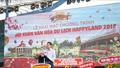 """Khang Thông khai mạc """"Hội xuân văn hóa du lịch Happyland 2019"""" và mở cửa khu văn hóa Việt Nam"""