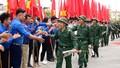 Ấn tượng cảnh trai Hà Nội náo nức lên đường nhập ngũ