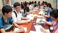 Thí sinh bắt đầu nộp hồ sơ đăng kí dự thi THPT Quốc gia