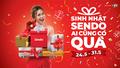 Sendo tổ chức chương trình mua sắm lớn nhất đầu năm, mừng sinh nhật 7 tuổi từ 24/5/2019 đến 31/5/2019