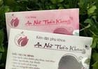 Thu hồi, đình chỉ lưu hành 2 sản phẩm Vĩnh Xuân Hồng và An nữ thảo khang