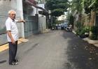 Khu phố gương mẫu tự bỏ tiền làm đường
