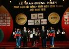 """Vedan Việt Nam nhận giải thưởng """"Top 10 nhãn hiệu nổi tiếng hàng đầu Việt Nam"""""""