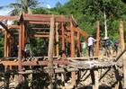 34 hộ dân sống tạm bợ sau bão số 3