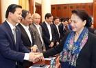 Chủ tịch Quốc hội Nguyễn Thị Kim Ngân thăm và làm việc tại Bắc Ninh
