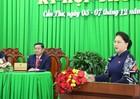 Chủ tịch Quốc hội thông báo tin vui cho cử tri miền Tây