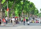 Kéo dài thời gian hoạt động Phố đi bộ quanh hồ Hoàn Kiếm dịp 30/4 và 1/5