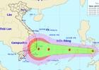 Sáng mai khả năng bão vào biển Đông, tâm hướng đến Nam Trung Bộ