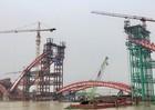 Ngày 23/8 dự kiến hoàn thiện hợp long các vòm chính cầu Hoàng Văn Thụ, Hải Phòng