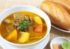 Hướng dẫn cách nấu súp gà chấm bánh mì