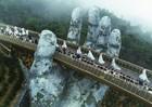 Cầu Vàng tại Sun World Ba Na Hills tiếp tục gây sốt trên tạp chí TIME