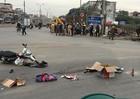 Một phụ nữ bị xe tải cán tử vong trên đường Hà Nội