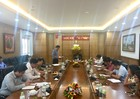 Thứ trưởng Bộ Tư pháp Đặng Hoàng Oanh làm việc với Học viện Tư pháp Cơ sở TP. Hồ Chí Minh