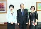 Thứ trưởng Đặng Hoàng Oanh tháp tùng Phó Thủ tướng Thường trực Chính phủ gặp và làm việc với Bộ trưởng Bộ Tư pháp Nhật Bản Yoko Kamikawa