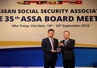 Bảo hiểm xã hội Việt Nam nhận giải thưởng của ASSA về Công nghệ thông tin