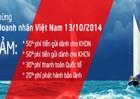 VietABank: Ưu đãi đặc biệt chào mừng ngày Doanh nhân Việt Nam