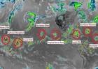 9 cơn bão xuất hiện cùng một lúc, chuyên gia dự báo điều bất thường