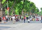 Phố đi hộ Hồ Gươm vẫn hoạt động hết dịp nghỉ lễ 2/9