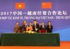Vinamilk ký bản ghi nhớ với đối tác Trung Quốc