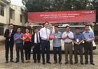 Maritime Bank bàn giao trường học và xe cứu thương cho bà con vùng lũ Hà Tĩnh