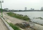Hà Nội:  Dự án cải tạo hồ Định Công chưa khánh thành đã xuống cấp nghiêm trọng