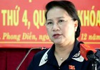 Chủ tịch Quốc hội Nguyễn Thị Kim Ngân: Một số dự án BOT làm chưa đúng, còn sai sót