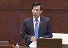 Mở đầu chất vấn, Bộ trưởng Nguyễn Ngọc Thiện đã nhận trách nhiệm về sai sót của Ngành