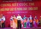 Trao giải Cuộc thi 'Tìm hiểu pháp luật về phòng cháy, chữa cháy'