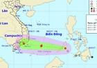 Lại thêm áp thấp nhiệt đới mạnh gần Biển Đông