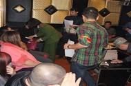 Bắt quả tang 28 đối tượng cuồng loạn trong quán karaoke