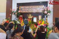 Nghẹn lòng giây phút tiễn biệt Đại tá phi công Trần Quang Khải