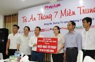 Ấm áp chương trình Báo Pháp luật Việt Nam Chung tay xóa nghèo pháp luật