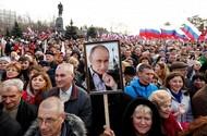Người dân Nga nức lòng với chiến thắng của Tổng thống Vladimir Putin