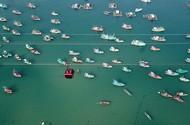 Nhiều du khách chọn đón Tết tại Hòn Thơm bằng cáp treo