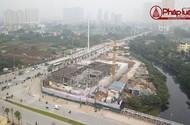 Cận cảnh hiện trường sập giàn giáo khiến 3 người chết ở Hà Nội
