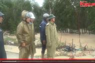 Chủ tịch UBND tỉnh Bình Định chỉ đạo công tác cứu hộ bão số 12