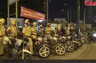 """Cảnh sát giao thông ra quân chống """"quái xế"""" dịp 2/9"""