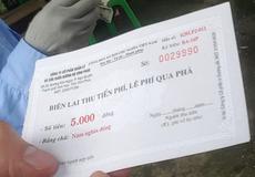"""Phú Thọ: Bóc mẽ """"chiêu"""" gian lận tiền vé ở bến phà Đức Bác"""