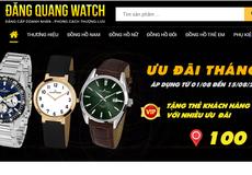 Đăng Quang Watch mập mờ thông tin nguồn gốc sản phẩm ?