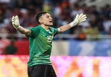 Ngắm Văn Lâm bay người loại 'chướng ngại vật' để Việt Nam vô địch AFF Cup 20