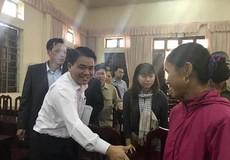 Chủ tịch UBND TP Nguyễn Đức Chung: Giải quyết công tâm kiến nghị của người dân Đồng Tâm