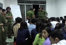 Hàng trăm cảnh sát kiểm tra tụ điểm bán hàng đa cấp ở Cần Thơ