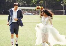 Bộ ảnh cưới đẹp tuyệt trước giờ khai mạc World Cup