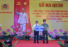 Đồng Nai ra quân làm công tác dân vận Chung sức xây dựng nông thôn mới
